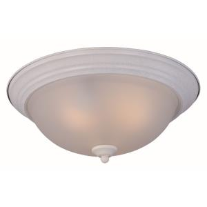 Flush Mount EE-Three Light Flush Mount in Contemporary style-15.5 Inches wide by 6 inches high