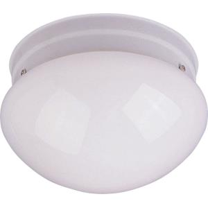 Utility EE-Two Light Flush Mount in Builder style-9 Inches wide by 5 inches high