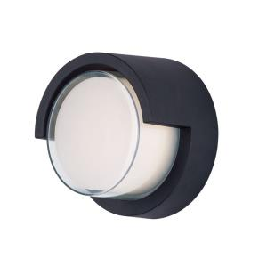 Eyebrow-8W 1 LED Outdoor Wall Lantern-6.75 Inches wide by 6.75 inches high
