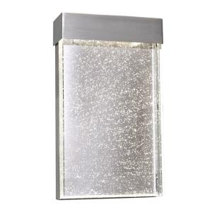 Moda - 9W LED Outdoor Wall Sconce - 7 Inches wide by 12 inches high