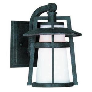 Calistoga-4W1 LED Outdoor Wall Mount in Modern style-7 Inches wide by 10 inches high