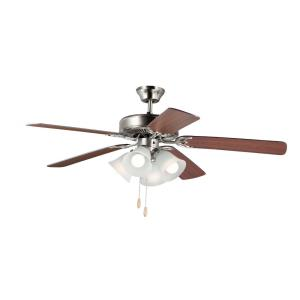 Basic-Max - 52 Inch Indoor Ceiling Fan with Light Kit I