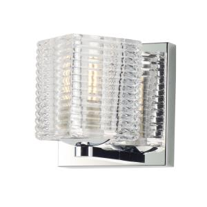 """Groove - 4.75"""" 4W 1 LED Wall Sconce"""