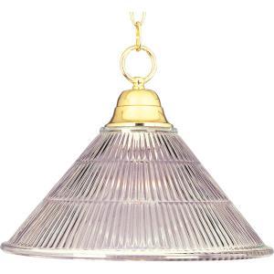 One Light Invert Bowl Pendant