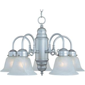 Builder Basics - Five Light Chandelier