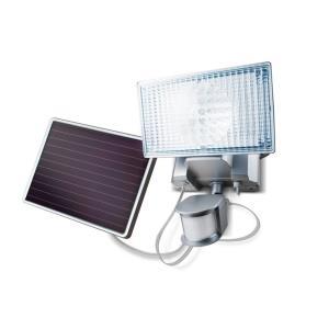 """7.5"""" 150 LED Solar-Powered Security Floodlight"""