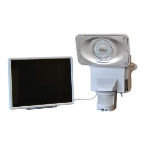 """10"""" 16 LED Solar Security Video Camera and Floodlight"""