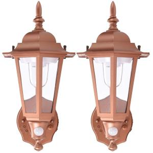 2-Pack Plastic Wall Sconce