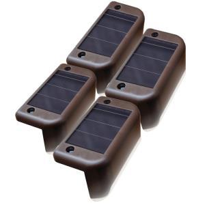 Solar LED Deck Lights- 4 pack