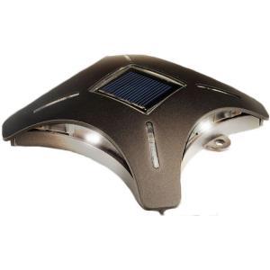 "Ninja Stars - 4"" 4 LED Solar Deck/Accent Light"