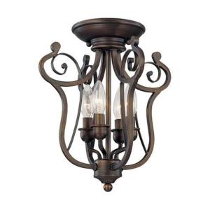 Chateau - Four Light Semi-Flush Mount
