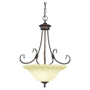 "Fulton - 26"" Three Light Pendant"