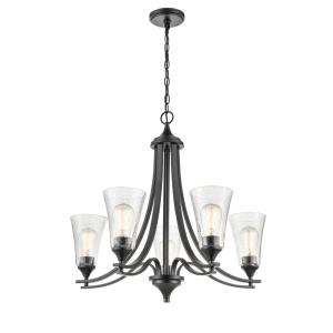 Natalie-5 Light Chandelier-27.75 Inches Wide by 25.5 Inches High