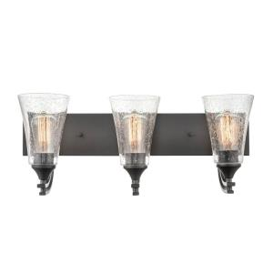 Natalie-3 Light Bath Vanity-24 Inches Wide by 10 Inches High