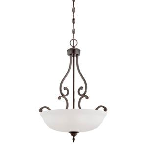 Courtney Lakes-Three Light Pendant-18 Inches Wide by 24 Inches High