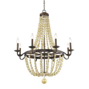 Victoria - Eight Light Chandelier