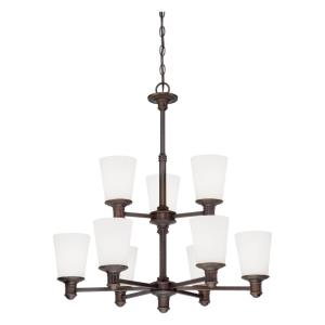 Cimmaron Chandelier 9 Light -28.5 Inches Wide by 30.25 Inches High