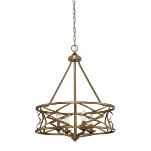 Lakewood-4 Light Chandelier-21 Inches Wide by 26 Inches High