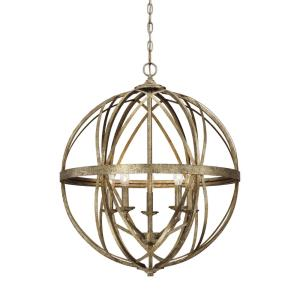 Lakewood-5 Light Pendant-24 Inches Wide by 28 Inches High