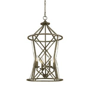 Lakewood-4 Light Pendant-16 Inches Wide by 30 Inches High