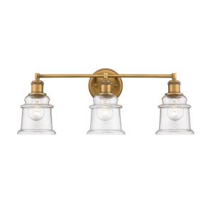 3 Light Bath Vanity-24 Inches Wide by 9 Inches High