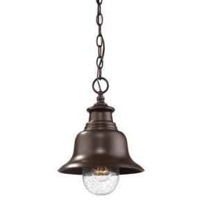 "12.75"" One Light Outdoor Hanging Lantern"