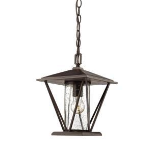 "12"" One Light Outdoor Hanging Lantern"