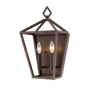 10 Inch Two Light Wall Sconce