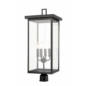 Barkeley - Four Light Outdoor Post Lantern