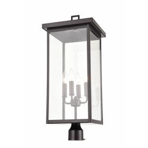 Barkeley - Four Light Outdoor Post Lantern