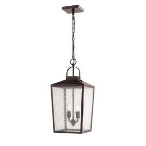 22 Inch Two Light Outdoor Hanging Lantern