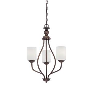 Lansing Chandelier 3 Light -13 Inches Wide by 26 Inches High