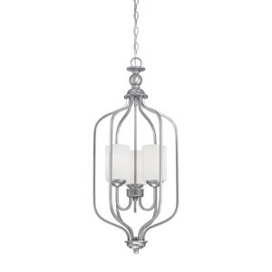 Lansing-3 Light Pendant-13.5 Inches Wide by 32 Inches High