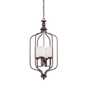 Lansing-4 Light Pendant-16 Inches Wide by 32 Inches High