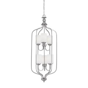 Lansing-Six Light Pendant-16 Inches Wide by 43.5 Inches High