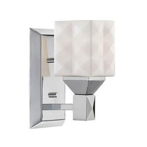 One Light Bath Vanity-4 Inches Wide by 8 Inches High