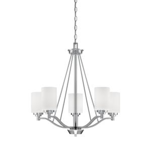 Durham Chandelier 5 Light-25 Inches Wide by 26 Inches High