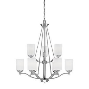 Durham Chandelier 9 Light -28.88 Inches Wide by 33 Inches High