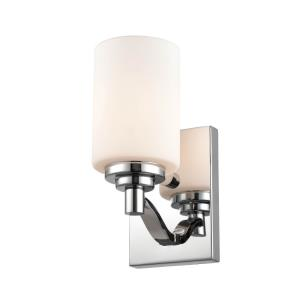 1 Light Wall Sconce-4.38 Inches Wide by 9 Inches High