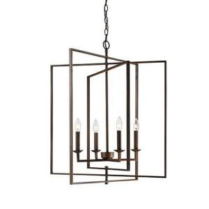 Four Light Pendant-26 Inches Wide by 31 Inches High
