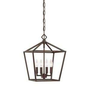 None - 18 Inch 4 Light Pendant