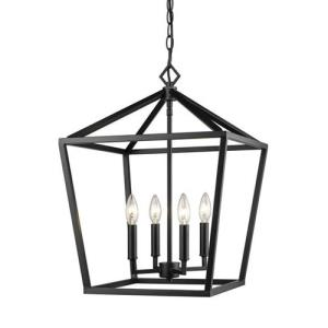 "None - 24"" 4 Light Pendant"