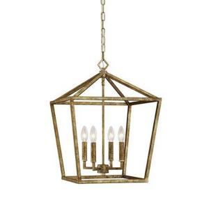 None - 24 Inch 4 Light Pendant