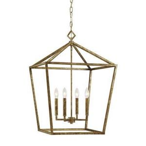 None - 30 Inch 4 Light Pendant