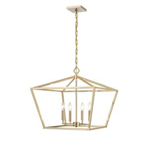4 Light Pendant-23 Inches Wide by 21 Inches High