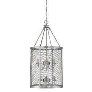 Akron-6 Light Pendant-15 Inches Wide by 32 Inches High