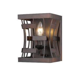 6 Inch One Light Wall Sconce