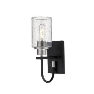 Clifton-One Light Wall Sconce-5 Inches Wide by 13.5 Inches High