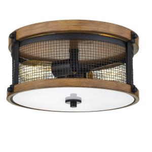Mesa-2 Light Flush Mount-13 Inches Wide by 5 Inches High