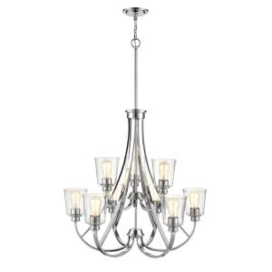 Forsyth - 9 Light Chandelier